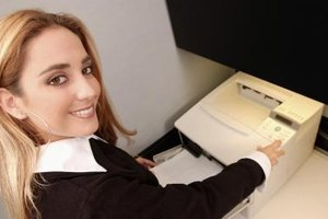 Printer installation can be done via Internet, network or USB drive.