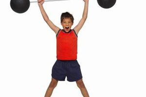Proper instruction minimizes strength-training risks for kids.