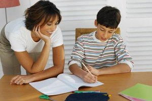 Tutors work with individual students or with small groups.