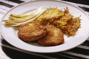 Prepare dehydrated hash browns as a side dish for breakfast or dinner.