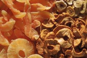 Enjoy seasonal fruits year-round by dehydrating them.