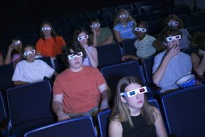 Teens enjoy watching movies.