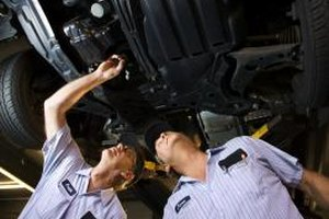 Auto body technicians who hold a college degree have a competitive edge.