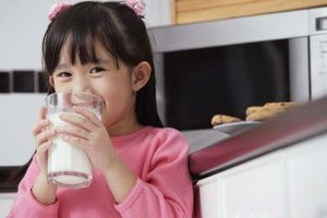 Physicians often recommend whole milk for growing babies and children.
