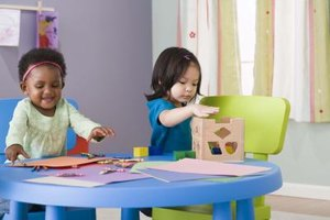 Encourage toddlers to explore and experiment to help expand their thinking skills.