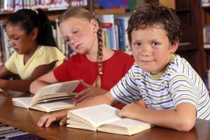 Pairing up students to discuss a text can help develop reading comprehension.
