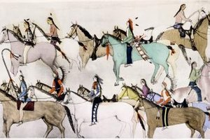 The Sioux were a nomadic tribe who communed with Mother Earth.