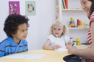 Behavioral specialist consultants help children develop healthier, positive behaviors.