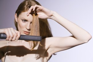 How to Control Frizz When Flat Ironing Hair