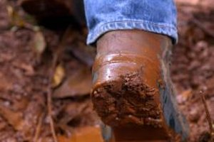 Clean your muck-covered shoes before you stride into your house.