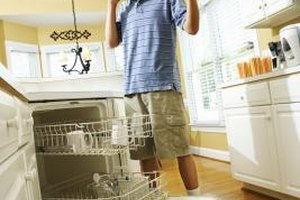 You can train your teen to put his dishes away with clear expectations.
