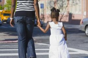 By teaching your child pedestrian skills, she has more likelihood of staying safe near the street.