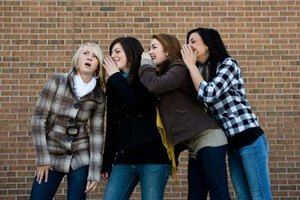 Instead of whispering gossip, have girls whisper positive things about one another.