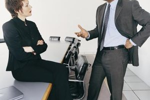 Controlling colleagues should be dealt with professionally.