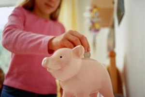 An allowance helps kids save for toys they want.