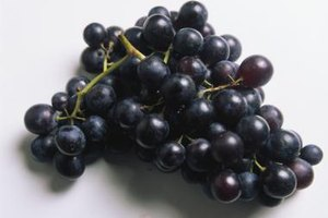 All types of grapes produce tartaric acid.