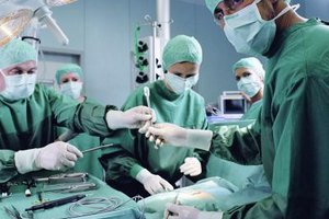 Surgeons typically earn six-figure salaries.