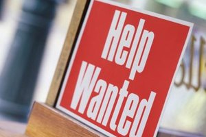 Small towns may not have any help wanted signs in sight.