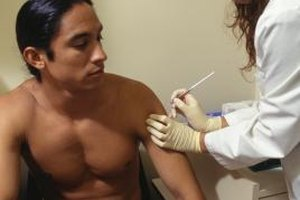 The deltoid muscle is a common site for injections.