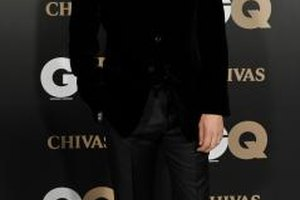 A velvet blazer is a chic alternative to the traditional black suit for actor Clive Owen.