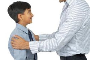 Encouraging a child helps to buid his self-confidence, and in turn he may become proactive.