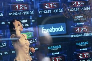 Facebook's IPO was a high-profile stock market event in May 2012.