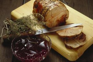 Pork roast can go bad if left unrefrigerated for more than two hours.
