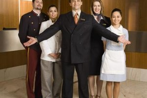 Hotel managers are responsible for assigning tasks to staff.