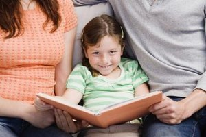 Kids enjoy showing off their reading skills to Mom and Dad.