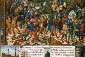 Crusaders were sent by the Roman Catholic Church to fight Muslims in a holy war for Jerusalem.
