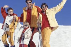 Ruidoso provides plenty of skiing opportunities in the winter.