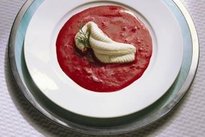 Beet powder can also be added to sauces to enrich the color.