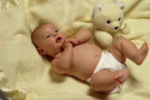 Newborns usually lose weight right after birth.