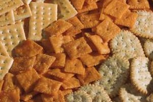 Las galletas de trigo son ricas en carbohidratos.
