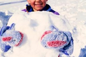 Real snow can add an authentic touch to your winter carnival games.