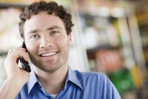 Smiling helps you convey a warm, friendly tone on the phone.
