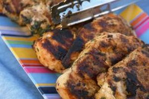 Grilling may cook the outside of a piece of chicken quickly, leaving the inside raw.