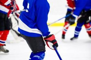 Leadership ability and a strong knowledge of the game are essential for a hockey captain.