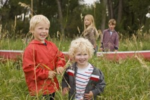 Nature walks provide unlimited opportunites for preschool environmental science lessons.