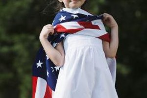 Many children will enjoy learning the history of the American flag.