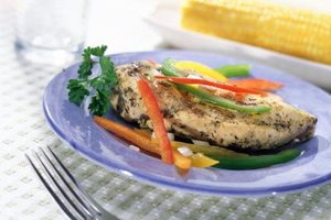 Boneless chicken is considered a lean, low-fat meat.