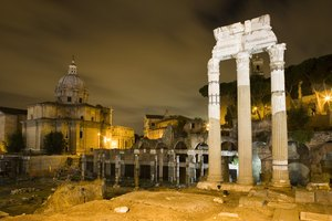 Ways in Which Geography Impacted Rome's Development