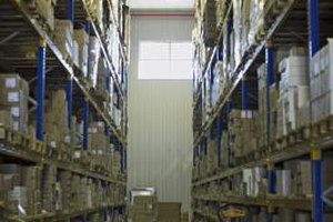 Warehouse managers are in charge of goods and personnel.