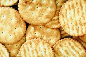 Buttery round crackers please a crowd on their own or in recipes.