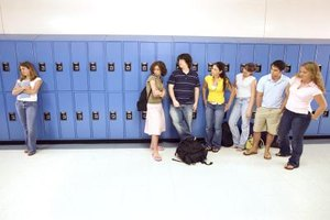 Cliques are common in middle school and high school.