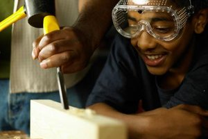 Industrial arts degrees give students labor-focused training.