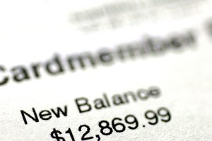 What Does a Negative Number on My Credit Card Balance Mean?