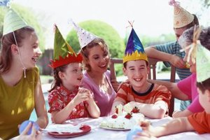 Celebrate your child's big day with a fun-filled party.