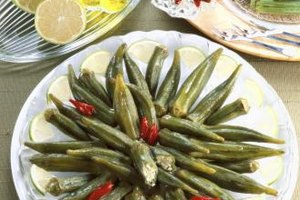 Leaving your okra whole prevents it from gaining an unpleasant texture.
