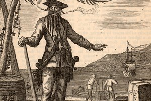 What Were Blackbeard's Weapons Before He Died?